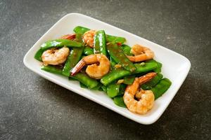 Stir-Fried Green Peas with Shrimp photo