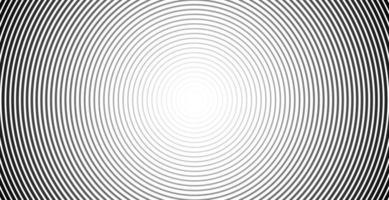 Circle line background sound wave graphics vector