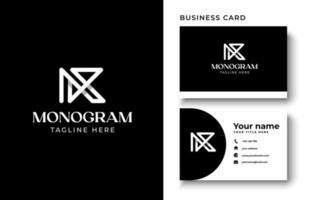 Initial Letter K Monogram Logo Template In Isolated Black Background Vector Illustration