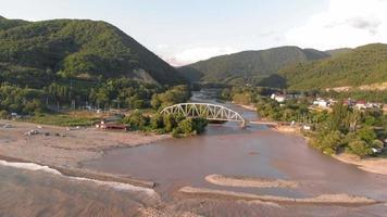 A Bridge Over the Seaside River video