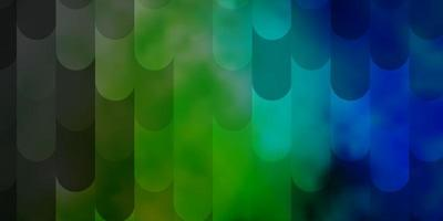 Light Blue, Green vector layout with lines. Gradient abstract design in simple style with sharp lines. Pattern for booklets, leaflets.