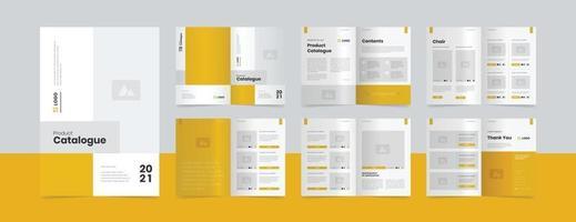 modern product catalogue design template vector
