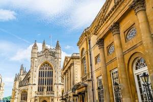 The Abbey Church of Saint Peter and Saint Paul, Bath, commonly known as Bath Abbey, Somerset England photo