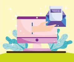 online vote envelope vector