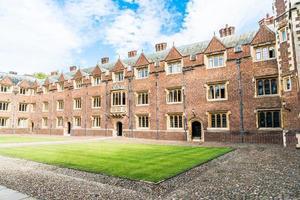 Beautiful Architecture St Johns College in Cambridge photo
