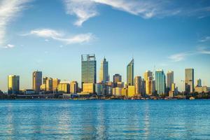 Skyline of perth in Western Australia photo
