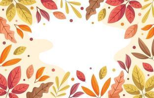 Fall in Autumn Season vector