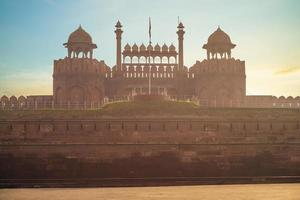 Lahori Gate of Red Fort Lal Qila in Old Delhi, India photo