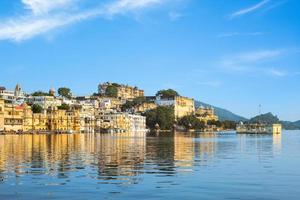 View of Udaipur in Rajasthan, India photo