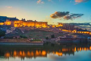 Amber fort at Jaipur in india photo