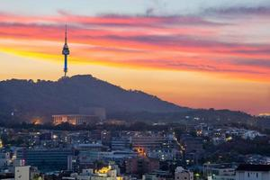 View of Seoul and in South Korea photo
