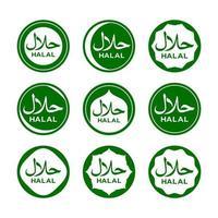 Halal Certified Logo vector