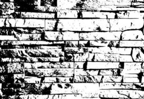Grunge brick wall texture and background . Vector .