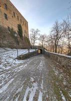 View of the Castle of Zavattarello, Northern Italy photo