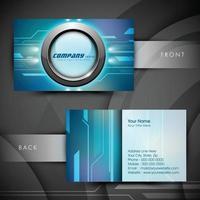 Vector creative business card template