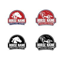 Horse Brand Vector Sign