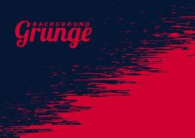 Beautiful Red Vector Grunge Background