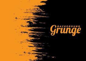Beautiful Orange Vector Grunge Background
