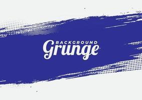 Beautiful Blue Vector Grunge Background