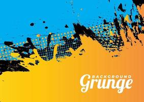 Colorful Grunge Vector Background