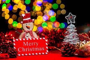 Christmas decoration, Christmas and New Year holidays background photo