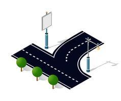 City Road Street Is a Highway vector