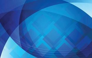 Abstract Blue Dynamic Background Template vector