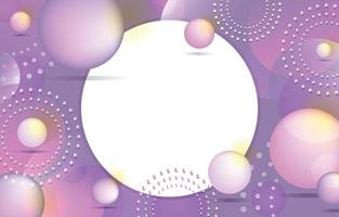Abstract Pastel Purple Background Template vector