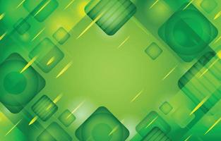 Abstract Green Background Template vector