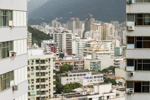 Edificios en el barrio de Botafogo en Río de Janeiro, Brasil foto