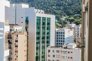Edificios en el barrio de Humaita en Río de Janeiro, Brasil foto