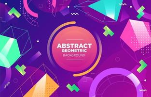 Electric Style Abstract Geometric vector