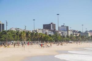 Playa Flamengo en Río de Janeiro, Brasil foto