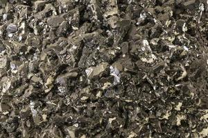 Silver mineral background photo