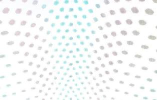 luces de colores redondas sobre un fondo blanco foto