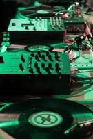 Mixer setup for DJs photo