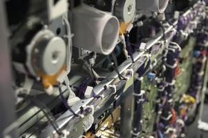 circuitos electrónicos de una impresora digital foto