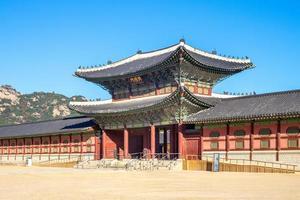 Heungnyemun, at Changdeokgung Palace in Seoul in South Korea at seoul in south korea photo