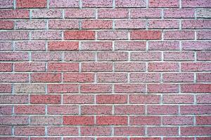 Old red brick wall texture background. photo
