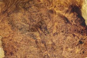 naturaleza afzelia burl madera a rayas foto