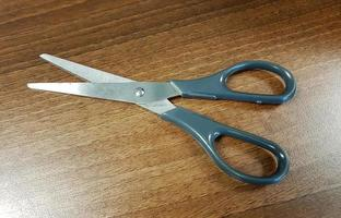 A Pair of Grey Scissors photo