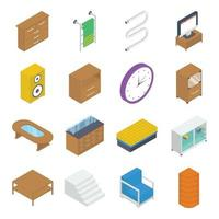 Furniture and Interiors Elements vector