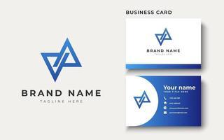 VA AV Logo Design Inspiration, Vector illustration