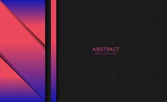estilo de diseño de fondo de color degradado rojo azul abstracto vector