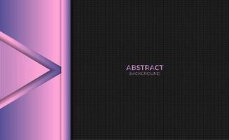 Abstract Purple Gradient Background Design Style vector