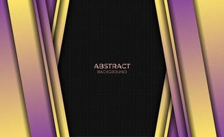 Abstract Design Style Purple Yellow Gradient Background vector