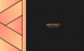 Abstract Modern Orange Yellow Gradient Color Background Design Style vector