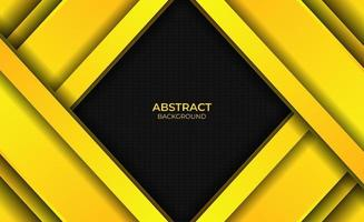 Background Design Gradient Bright Yellow Abstract Style vector