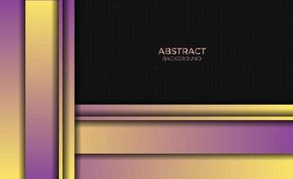 Abstract Style Design Gradient Purple Yellow Background vector