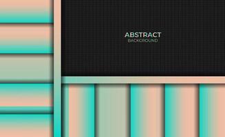 Abstract Gradient Magenta Orange Background Style Design vector